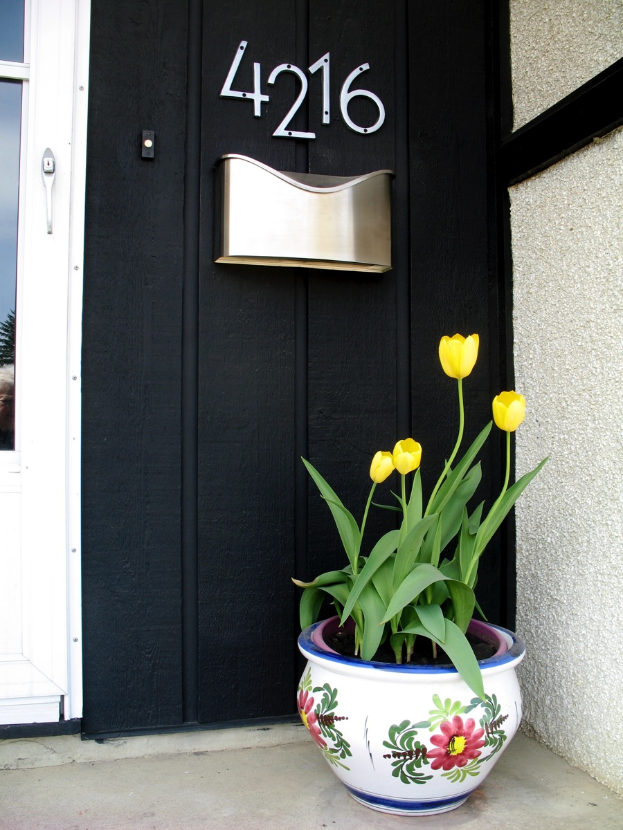 Tulips porch 2012